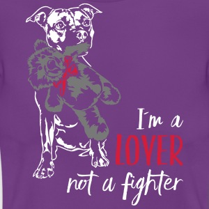 LOVER NOT A FIGHTER - Staffordshire - Women's T-Shirt