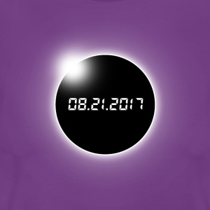 Eclipse solar total - Camiseta mujer