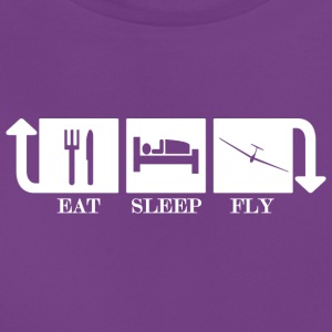Eat Sleep Fly Repeat - Maglietta da donna
