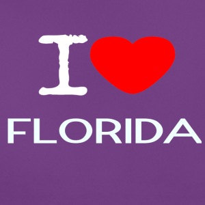I LOVE FLORIDA - T-skjorte for kvinner