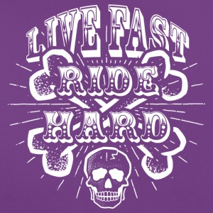 Live Fast Ride Hard! - Frauen T-Shirt