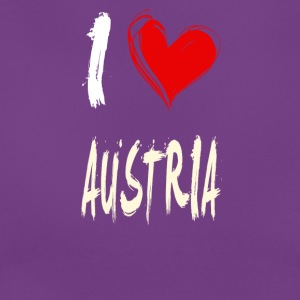 I love austria - Frauen T-Shirt