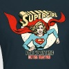 Supergirl Teenager T-Shirt Does Everything - Dame-T-shirt