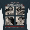 DC Comics Originals Wonder Woman Poses - Vrouwen T-shirt