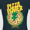 Tortues Ninja Pizza Power Carapace - T-shirt Femme