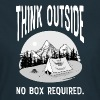Think Outside - No Box Required - Women's T-Shirt