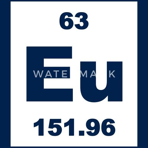 Europium Eu Element 63 By Elementaltable Spreadshirt