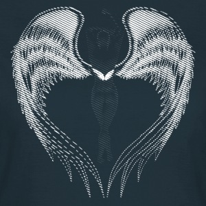 Angel sort - Dame-T-shirt