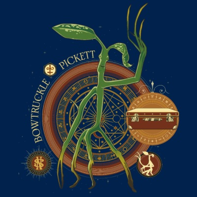 Fantastic Beasts Bowtruckle Pickett