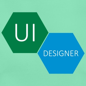 UI User Interface Designer - T-skjorte for kvinner