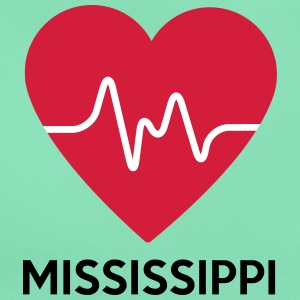 heart Mississippi - Women's T-Shirt