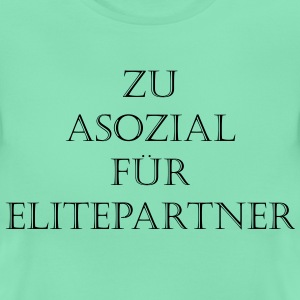 Asozialer Elitepartner - Frauen T-Shirt