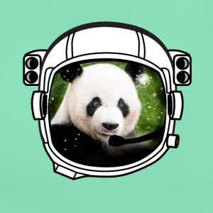 helmet panda Astronaut all above ground hipster - Women's T-Shirt