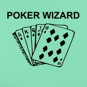 Poker Wizard - T-shirt dam