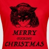 bad cat merry christmas - Maglietta da donna