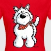 West Highland White Terrier - Westie – Dog - Women's T-Shirt
