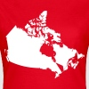 Kanada, Canada Map - Frauen T-Shirt