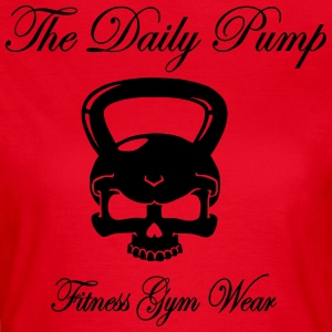 The Daily Pump Kettlebell - Women's T-Shirt