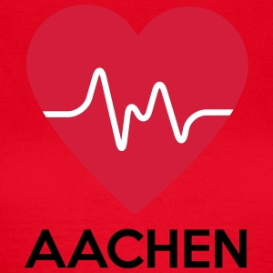 heart Aachen - Women's T-Shirt
