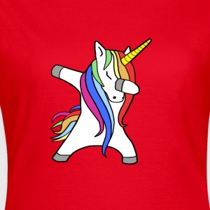 Dabbing Unicorn - Dancing Unicorn - Women's T-Shirt