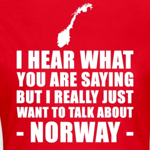 Norway Funny Holiday Gift Idea - Women's T-Shirt