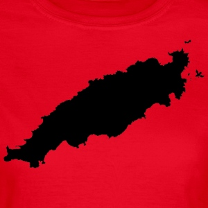 Tobago Silhouette - Women's T-Shirt
