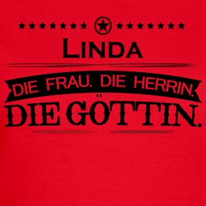 birthday goettin Linda - Women's T-Shirt
