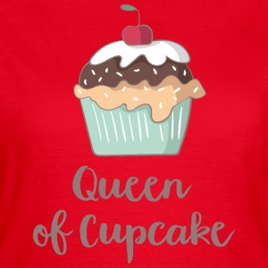 Queen of Cupcake - T-skjorte for kvinner