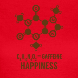 Periodensystem: C8 H10 N4 O2 = Happiness - Frauen T-Shirt