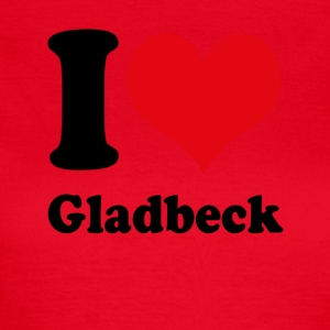 I love Gladbeck - Frauen T-Shirt