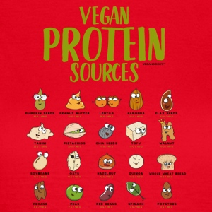 Vegan Protein Sources - Frauen T-Shirt