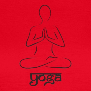 Yoga and meditation - Women's T-Shirt