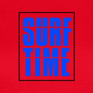 SURF TIME - Dame-T-shirt