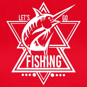 Lets go Fishing - We love Fishing! - Frauen T-Shirt