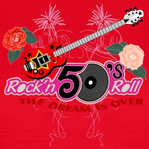 50 s rock n roll - Frauen T-Shirt