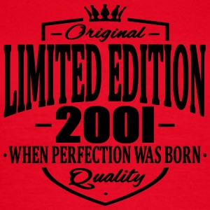 Limited edition 2001 - Dame-T-shirt