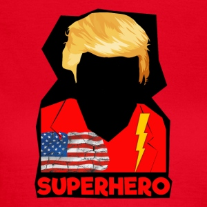 Super Donald / Orange Trump Tear-strappo - Maglietta da donna