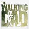The walking Dad - Zombie - Papa -Humor-Baby-Vater - T-shirt bio Homme
