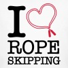 I Love Rope Skipping - Mannen Bio-T-shirt