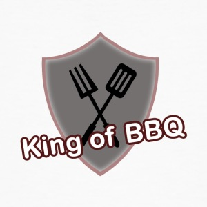 King of BBQ - Männer Bio-T-Shirt