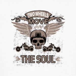 TWO WHEELS MOVE THE SOUL! - Men's Organic T-shirt