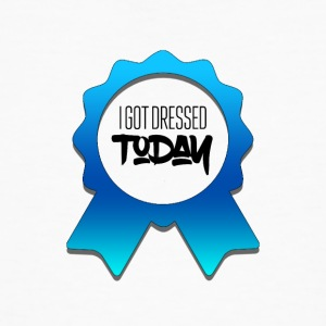 I got dressed today - Men's Organic T-shirt
