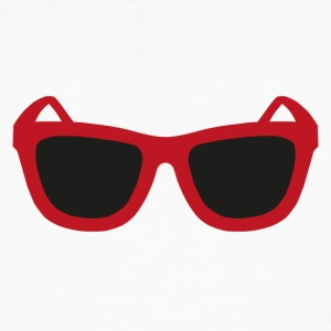 Red sunglasses - Men's Organic T-shirt