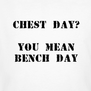 Bench day - Men's Organic T-shirt