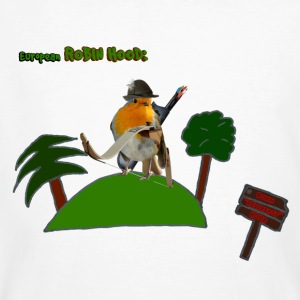 Robin - European Robin - Men's Organic T-shirt