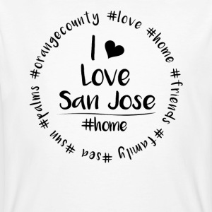 Jag älskar San Jose - Orange County - Ekologisk T-shirt herr