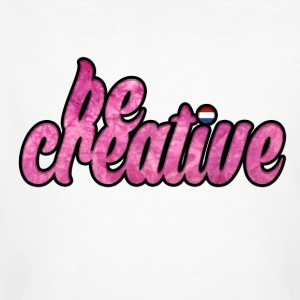 Be Creative T-shirt - Men's Organic T-shirt