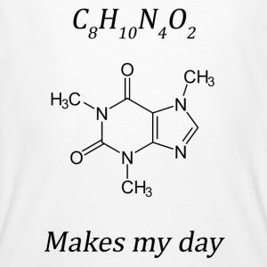 Coffein makes my day - Männer Bio-T-Shirt