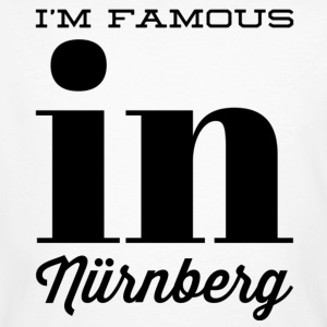 im famous in nuernberg - Men's Organic T-shirt