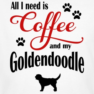 Goldendoodle Coffee - Men's Organic T-shirt